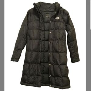 North Face quilted down jacket